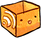 feed, Box, Rss SandyBrown icon