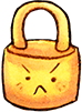 security SandyBrown icon