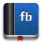 Facebook, Book DarkSlateBlue icon