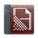 appicon, File, document, Ame Black icon