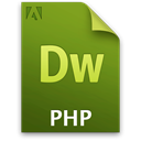File, document, Doc, Php OliveDrab icon