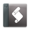 File, document, extendscripttoolkit DarkSlateGray icon