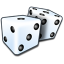 Games, Bet, yatzy, Game, dices, play Black icon