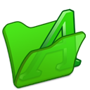 green, Font, Folder Icon