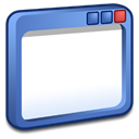 Luna, windows SteelBlue icon