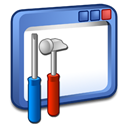 tools, windows Black icon