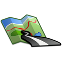 Map Black icon