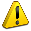 warning, Error Gold icon