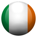 Ie, Ireland, gg Black icon