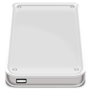 |, Device, Usb Gainsboro icon
