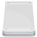 Disk, |, External, Hard Gainsboro icon