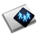Folder, sharepoint, | Black icon