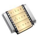 film, movie, Folder Black icon