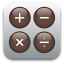 calculator DarkOliveGreen icon