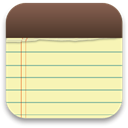 Notes Moccasin icon