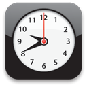 Clock WhiteSmoke icon