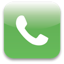 Call, phone, telephone MediumSeaGreen icon