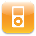 ipod, kjljlj Goldenrod icon
