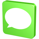 Msn, Text, Comment, Chat, forum, statement, Communication, sms, verdancy, vert, talk, report, Information, green, Message, announcement, Bubble YellowGreen icon