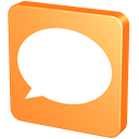 about, pin, baloon, mandarin, talk, Bubble, speech, Comments, tangerine, help, forum, hint, knob, Chat, snap, tack, Comment, mandarine, Orange, Balloon SandyBrown icon
