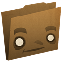 Folder, Brown Sienna icon