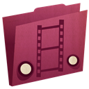 Movies Brown icon
