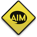102766, 097643, Aim Black icon