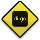 Logo, square, Diigo, 102785, 097662 Black icon