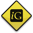 igooglr, 097687, square, Logo, 102810 Black icon