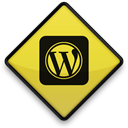 097742, Logo, 102865, Wordpress, square Black icon