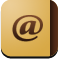 contacts, Adress book SandyBrown icon