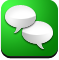 Text ForestGreen icon