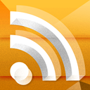 Rss, feed Goldenrod icon
