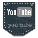 youtube DarkSlateGray icon
