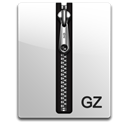gz, silver Black icon