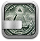 Money, Stocks DarkGray icon