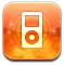 ipod Coral icon