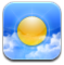 weather CornflowerBlue icon
