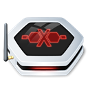 offline, Networkdrive Black icon
