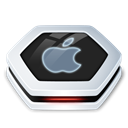 drive, Apple Black icon