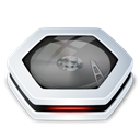 Harddrive Black icon