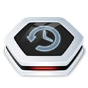 drive, timemachine Black icon
