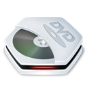 dvdrom Black icon