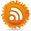Rss, feed Chocolate icon
