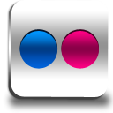 flickr DimGray icon