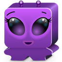 violet DarkSlateBlue icon