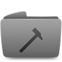 Developers, Folder Gray icon