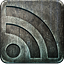 nonhighlight, Rss DarkSlateGray icon