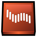 shockwave, adobe Chocolate icon