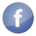 social media, Facebook LightSlateGray icon